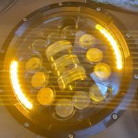 Daymaker impor 7 inch 16 LED+2 senja