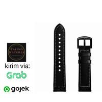 leather strap 20mm - Tali jam tangan, Rubber strap 20mm ,22mm - 20MM