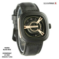 Jam Tangan Pria Seven Friday Premium SF79 / Jam SevenFriday Elegant - Black Rose
