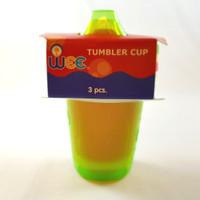 Wee Tumble Cup / Gelas / Cangkir Minuman Anak 3 pcs in 1 pack, 006