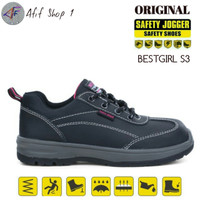 Sepatu Safety Jogger Bestgirl S3 SRC ORIGINAL - Sepatu Safety Wanita