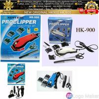 ASLI BERGARANSI Paket Mesin Alat Cukur Proclipper Happy King HK-900