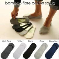 kaos kaki pria wanita bambu Bamboo hidden socks unisex pendek