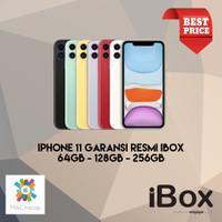 iPhone 11 64GB 128GB 256GB Garansi Resmi iBox NEW BNIB