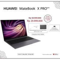 Huawei matebook X PRO i7 16GB/1TB garansi resmi