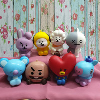 Squishy Murah BT21 Cute Doll Series / Squishy Boneka BT21 by VJsquishy