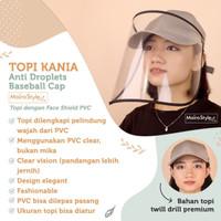 topi anti corona PVC - anti droplets