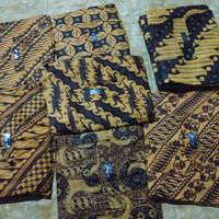 Celana Batik Jumbo Boim - Cokelat