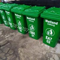 tempat sampah besar 120 Liter fiberglass
