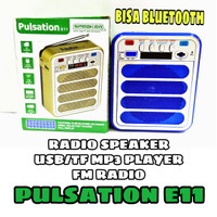 SPEAKER RADIO BLUETOOTH MP3 PULSATION E11