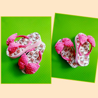 Wedges Anak Hello Kitty