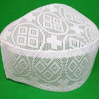 peci jaring putih 1 lapis