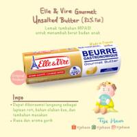 Elle & Vire Butter Unsalted 500gr / Mentega MPASI tawar