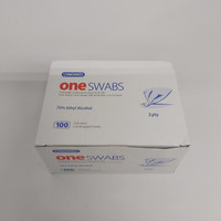 Tisu alkohol -one swabs ONEMED- 2 ply steril alcohol