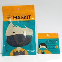Promo paket Maskit masker reusable berfilter + Filter 1 pack isi 3 pcs