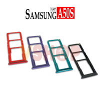 SIMTRAY - TEMPAT SIMCARD SAMSUNG A50S - A507 SLOT SIMCARD