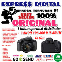 CANON EOS 800D KIT 18-55MM IS STM PAKET SIXTY FOUR GB