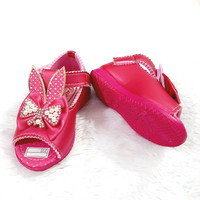 Sepatu Sandal Anak Bayi Perempuan 1 2 Tahun Bahan Lembut Model Lucu