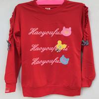 Baju Atasan Kaos Anak Perempuan Impor Lengan Panjang Usia 6 Tahun
