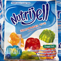 Nutrijell Jelly Plain 15 gr per box isi 12 pcs