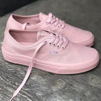 sepatu vans authentic wanita warna peach pink rossy pink