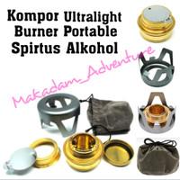 kompor ultralight spirtus burner alkohol not trangia