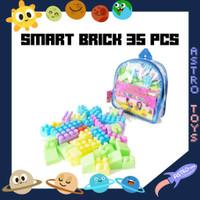 BLOCK BRICKS PINTAR MAINAN EDUKASI 35 PCS