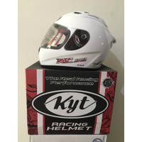 Helm KYT RC Seven Putih Solid Clear White RC-7 RC7