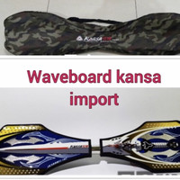 Waveboard Snakeboard Ripstick Skateboard Roket Swayboard Kansa Import