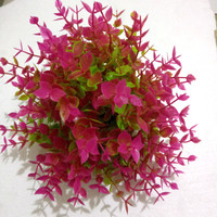 tanaman hias / bunga hias plastik untuk aquarium/ dekorasi ruangan