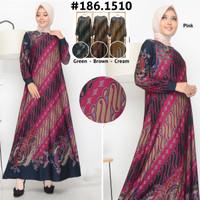 Baju Gamis wanita terbaru/ baju gamis wanita murah/ baju gamis batik