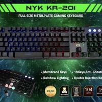 Keyboard Gaming Nyk Kr-201 Rgb Gaming Master