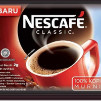 NESCAFE Classic Renceng10x 2 Gram - Complete Coffee Mix