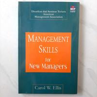 Buku Management Skills For New Managers by Carol W. Ellis