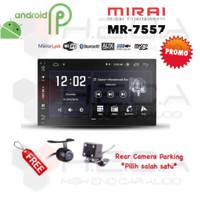 """MIRAI MR-7557 Android 7"""" Head Unit Double din Tape MR7557 + Camera"""