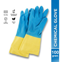 Sarung Tangan Latex Chemical Karet Kimia Glove 100 GR