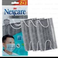 masker nexcare carbon 3M sensi 4PLY setara sensi