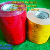 Stiker 3M Reflektif Reflektor Mobil - KIR DISHUB TRUK BOX -Per 1 meter