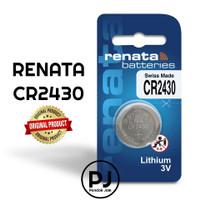 Baterai Renata CR2430 Original Lithium Coin Battery 3V Made in Swiss