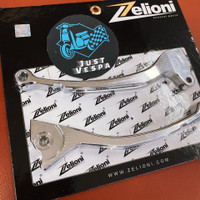 Handle Rem/Brake Lever Zelioni Chrome Vespa Sprint Primavera S LX LXV