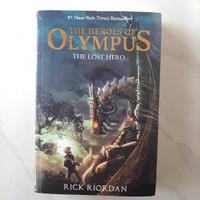 Buku The Lost Hero by Rick Riordan - The Heroes Of Olympus