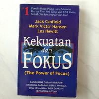 Buku Kekuatan Dari Focus by Jack Canfield Mark Victor Hansen Les Hewit