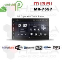 "MIRAI MR-7557 Android 7"" Head Unit Double din Tape MR7557 Mirrorlink"