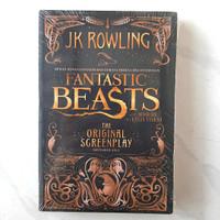 Buku Fantastic Beasts The Original Screenplay by J.K. Rowling