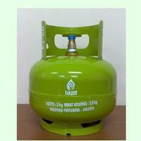 Gas ELPIJI 3 kg (tabung+isi)