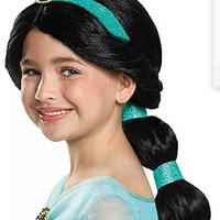 Wig Rambut Jasmine Princess / Wig Anak Putri Jasmine CW21