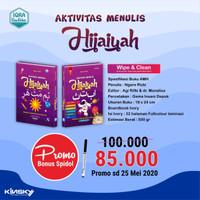 Buku Aktivitas Anak Islam Aktivitas Menulis Hijaiyah