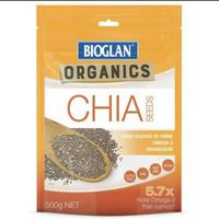 bioglan chia seed chiaseed 500gr 500 gr