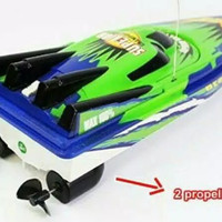 Mainan perahu boat remote control ,Rc Racing Boat