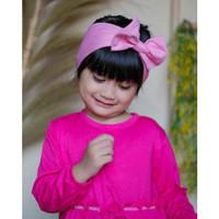 Bandana Pita Anak Bayi 0-3th - Bando Anak Perempuan - Aksesoris Rambut